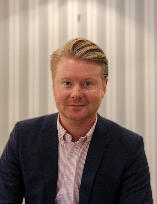 klinikksjef Christoffer Bjerke